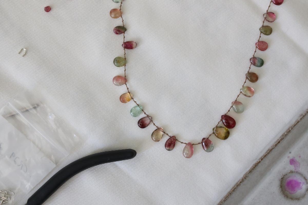 DIY Briolette Necklace